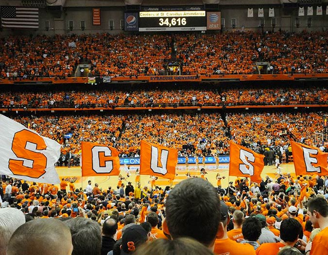 Syracuse Basketball game