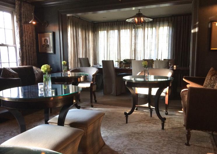 the dining room at CNY restaurant The Krebs