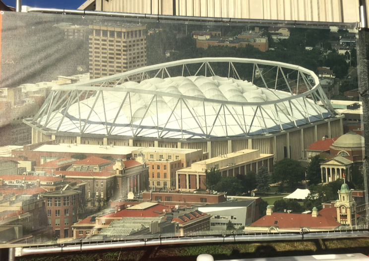 Rendering of new Dome roof