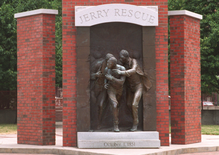 Jerry Rescue Monument CNY's part in black history