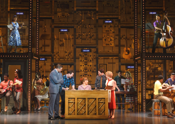 touring Broadway cast of Beautiful: the Carole King Musical