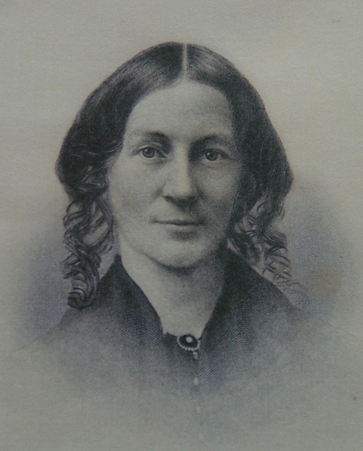 portrait of Myrtilla Miner