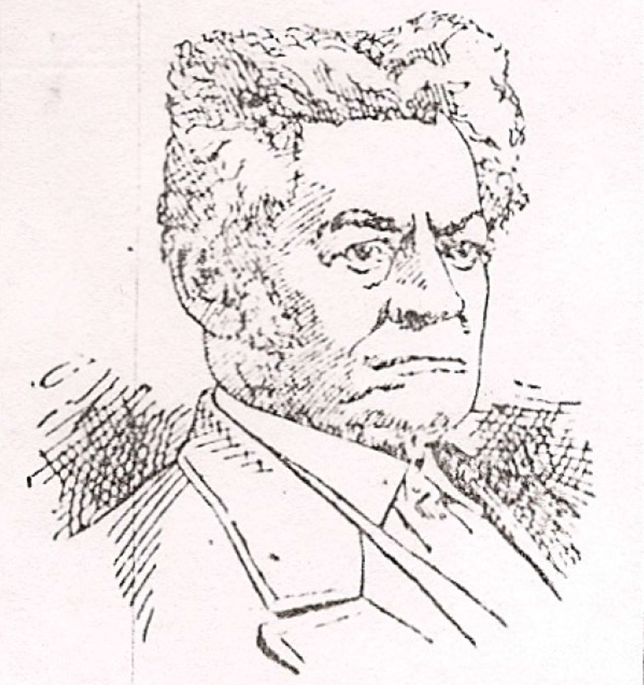 public domain portrait of Thomas James